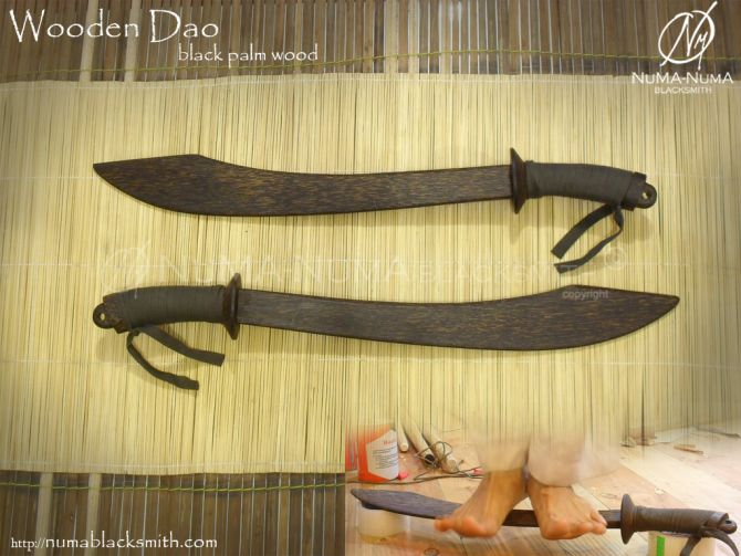 Wood Weapon wooden dao 1 dao1