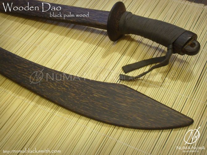 Wood Weapon wooden dao 2 dao3