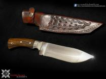 Skinner knife with hamon (limited)<br>